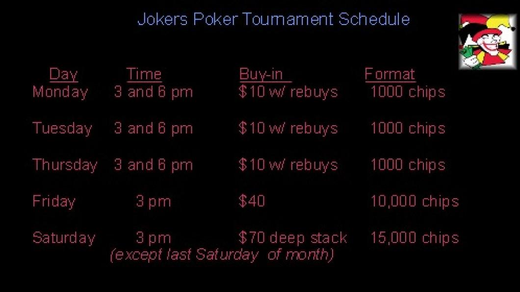Jokers richland poker